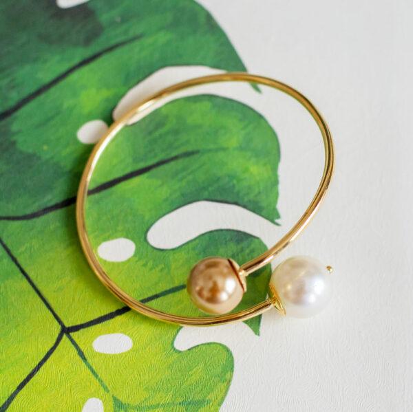 Bracelete Grace Kelly Dourado