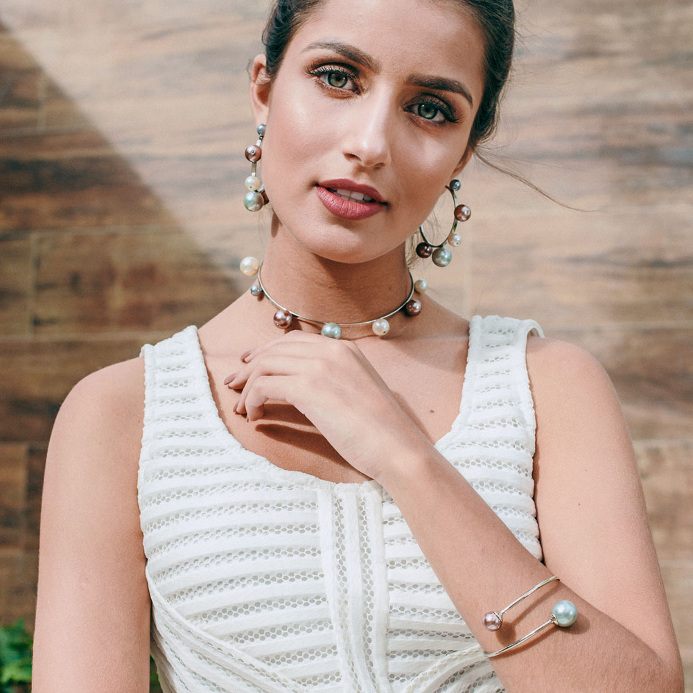 Choker Rainha Alexandra Prata