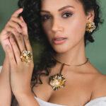 Anel-Fleur-Dourado