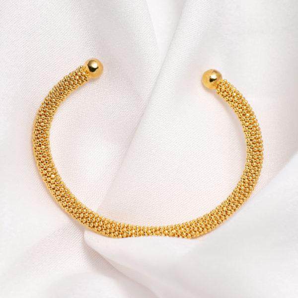 Pulseira-Infinita-Dourada